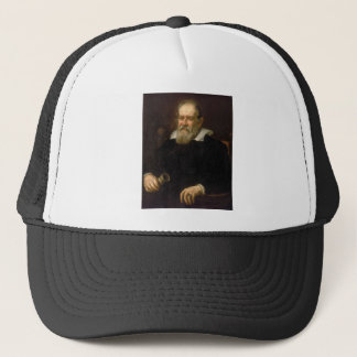 Portrait of Galileo Galilei by Justus Sustermans Trucker Hat