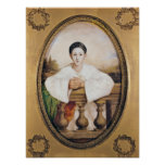 Portrait of Gaspard Deburau  as Pierrot, c.1815 Print