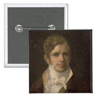 Portrait of Gaspare Spontini 2 Inch Square Button