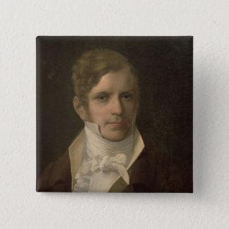Portrait of Gaspare Spontini Pinback Button