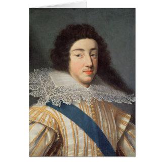 Portrait of Gaston d'Orleans Card