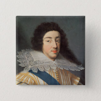 Portrait of Gaston d'Orleans Pinback Button
