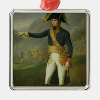 Portrait of General Charles Victor Metal Ornament