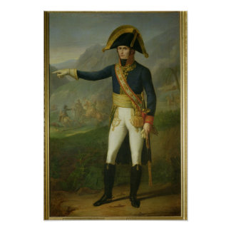 Portrait of General Charles Victor Poster
