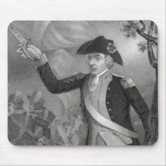 Portrait of General Francis Marion at the Battle o Mouse Pad