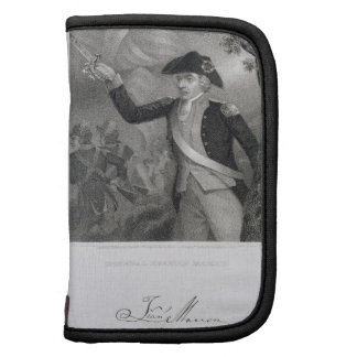 Portrait of General Francis Marion at the Battle o Folio Planners