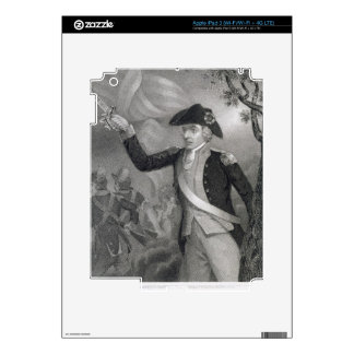 Portrait of General Francis Marion at the Battle o iPad 3 Decals
