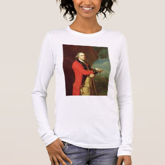 Portrait of General Thomas Gage, c.1768 (oil on ca Long Sleeve T-Shirt