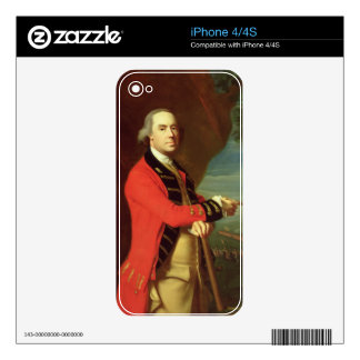 Portrait of General Thomas Gage, c.1768 (oil on ca Skin For The iPhone 4S