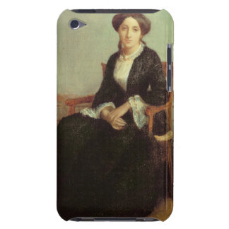 Portrait of Genevieve Celine, 1850 (oil on canvas) Barely There iPod Cover