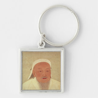 Portrait of Genghis Khan , Mongol Khan Key Chains