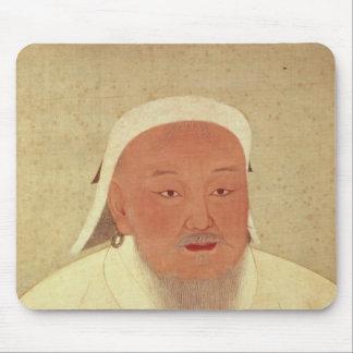 Portrait of Genghis Khan , Mongol Khan Mouse Pad