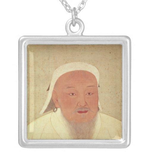 Portrait of Genghis Khan , Mongol Khan Pendants