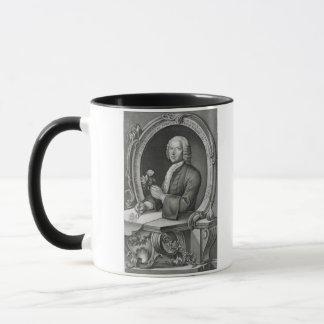 Portrait of Georg Dionysius Ehret (1710-70) engrav Mug