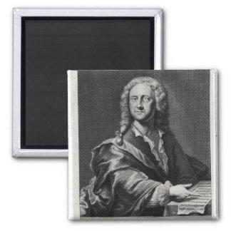 Portrait of Georg Philipp Telemann Refrigerator Magnet