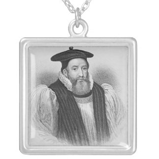 Portrait of George Abbot  Archbishop of Custom Necklace