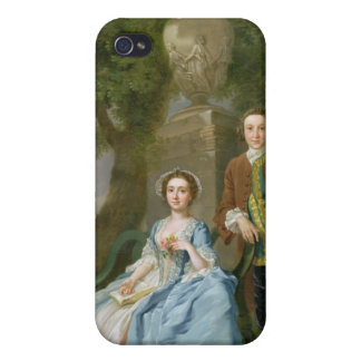 Portrait of George and Margaret Rogers, c.1748-50 iPhone 4/4S Case