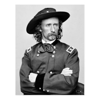 Portrait of George Armstrong Custer Postcard