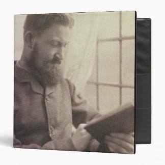 Portrait of George Bernard Shaw (1856-1950) as a Y Binder