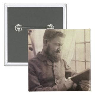 Portrait of George Bernard Shaw (1856-1950) as a Y Button