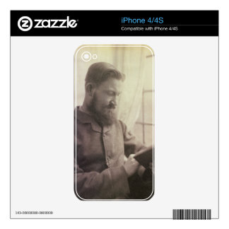 Portrait of George Bernard Shaw (1856-1950) as a Y Decal For The iPhone 4
