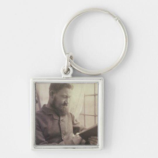Portrait of George Bernard Shaw (1856-1950) as a Y Keychain
