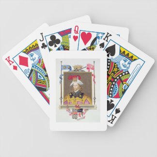 Portrait of George Clifford (1558-1605) 3rd Earl o Bicycle Playing Cards