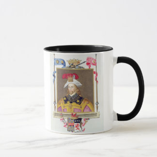 Portrait of George Clifford (1558-1605) 3rd Earl o Mug