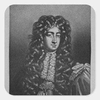 Portrait of George Duke of Northumberland Square Sticker
