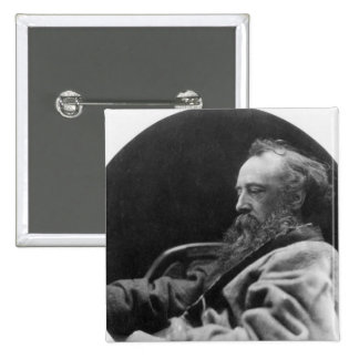 Portrait of George Frederick Watts Button