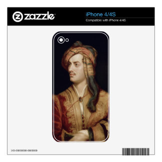 Portrait of George Gordon (1788-1824) 6th Baron By Decals For iPhone 4