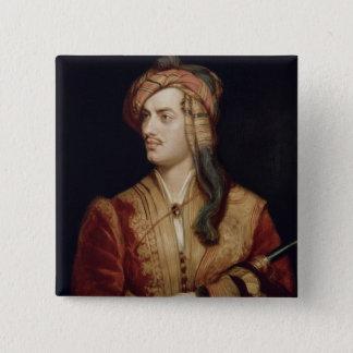 Portrait of George Gordon (1788-1824) 6th Baron By Pinback Button