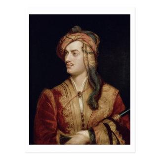 Portrait of George Gordon (1788-1824) 6th Baron By Postcard