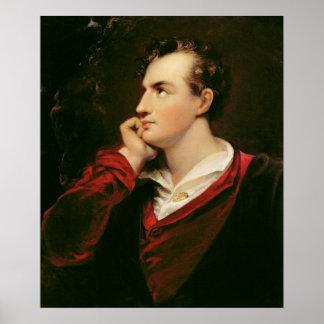 Portrait of George Gordon Byron  6th Baron Poster
