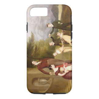 Portrait of George Granville Leveson-Gower and his iPhone 8/7 Case