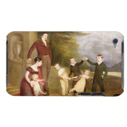 Portrait of George Granville Leveson-Gower and his iPod Case-Mate Case