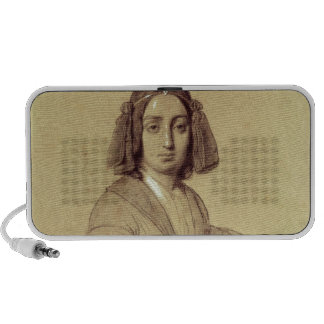 Portrait of George Sand  1837 Notebook Speakers