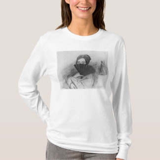 Portrait of George Sand  behind her fan T-Shirt