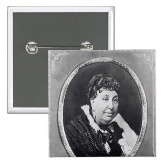 Portrait of George Sand Button