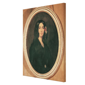 Portrait of George Sand Canvas Print
