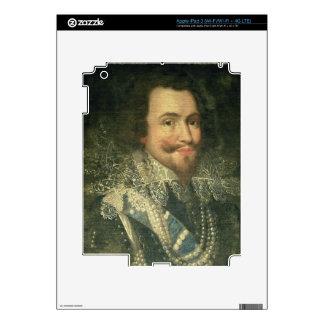 Portrait of George Villiers, 1st Duke of Buckingha Decal For iPad 3