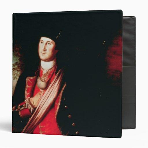 Portrait of George Washington  1772 3 Ring Binders