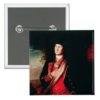 Portrait of George Washington  1772 Button