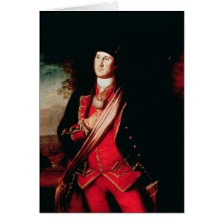 Portrait of George Washington  1772 Card