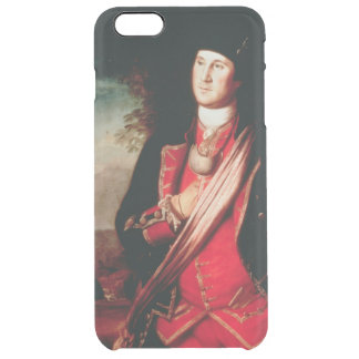 Portrait of George Washington  1772 Clear iPhone 6 Plus Case