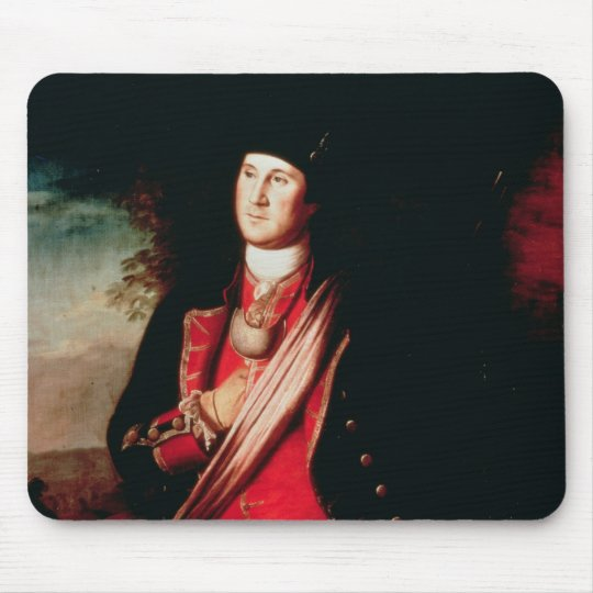 Portrait of George Washington  1772 Mouse Pad