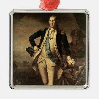 Portrait of George Washington, 1779 Metal Ornament