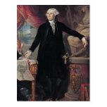 Portrait of George Washington, 1796 Postcard