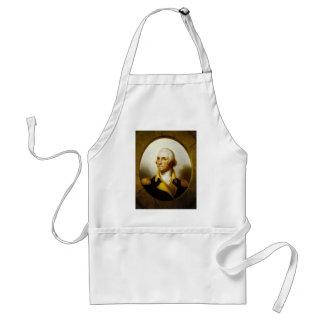 Portrait of George Washington Adult Apron