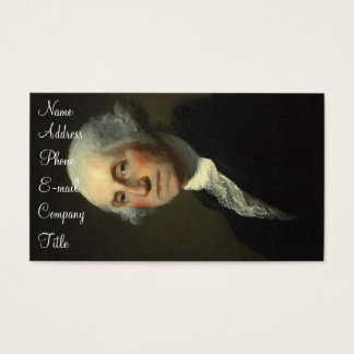 'Portrait of George Washington' Business Card